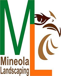 Mineola Landscaping logo showing our Hawk